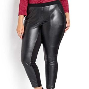Love & Legend Faux Leather Leggings